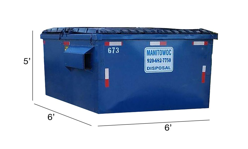 6 yard dumpster rental